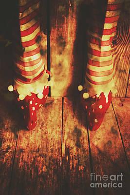 Elf Photograph - Retro Elf Toes by Jorgo Photography - Wall Art Gallery