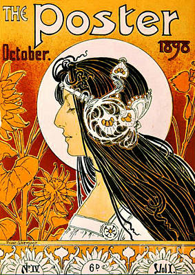 Photograph - Retro Magazine Cover 1898 by Padre Art