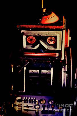 Angry Photograph - Retro Mechanical Robotics by Jorgo Photography - Wall Art Gallery