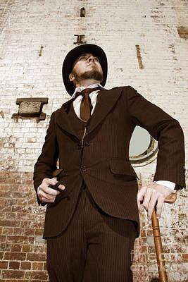 Gentleman Photograph - Retro Nobel Man by Jorgo Photography - Wall Art Gallery