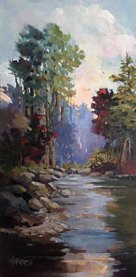 Painting - Return Home by Helen Harris