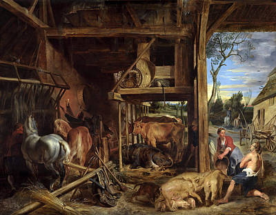 Prodigal Son Painting - Return Of The Prodigal Son by Peter Paul Rubens