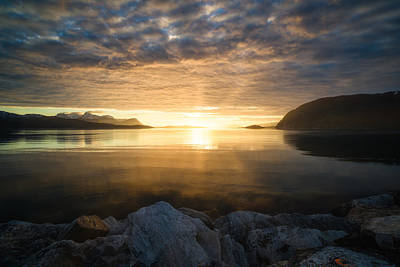 Norway Photograph - Return Of The Sun by Tor-Ivar Naess