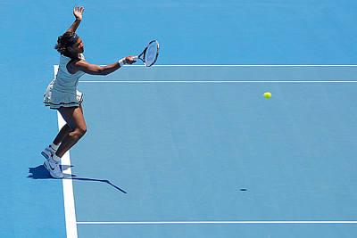 Serena Williams Photograph - Return - Serena Williams by Andrei SKY