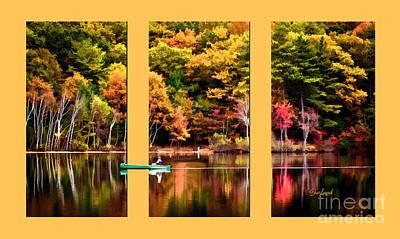 Return To Lake Transition  Print by Garland Johnson