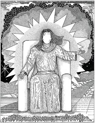 Religious Drawing - Revelation 20 by Glenn McCarthy Art and Photography