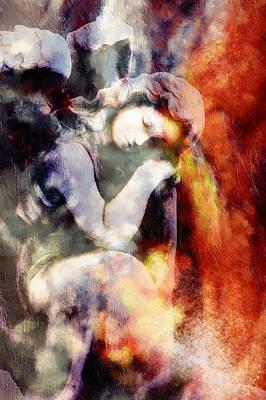 Revelation Mixed Media - Revelation Abstract Realism  by Georgiana Romanovna