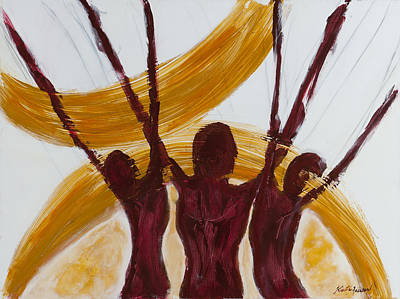 Alvin Ailey Painting - Revelations I by Kristye Addison Dudley