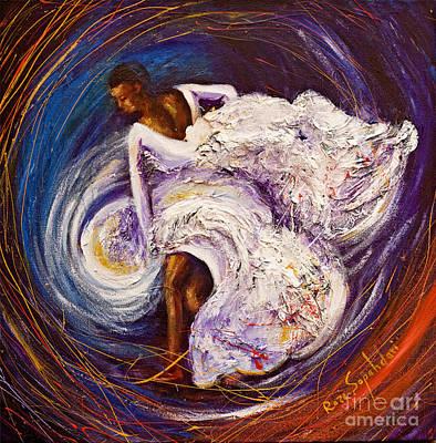 Alvin Ailey Painting - Revelations by Reza Sepahdari
