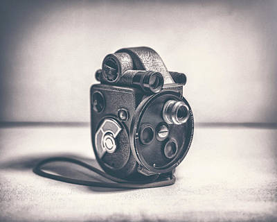 8mm Photograph - Revere Eight - Model 99 by Scott Norris
