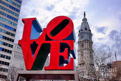 Phila Photograph - Reverse Love by Olivier Le Queinec