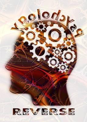 Thought Digital Art - Reverse Psychology by Anastasiya Malakhova