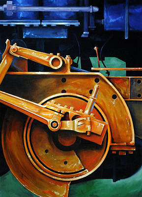 Mechanical Painting - Revolutions by Chris Steinken