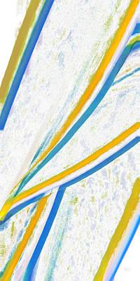 Coastal Decor Digital Art - Rhapsody In Leaves No 1 by Ben and Raisa Gertsberg