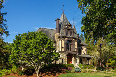 Photograph - Rhine House At Beringer Estates by Bill Gallagher