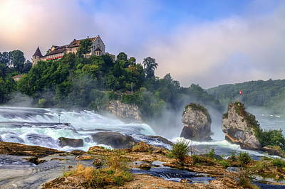 Photograph - Rhinefalls, Switzerland by Elena Duvernay
