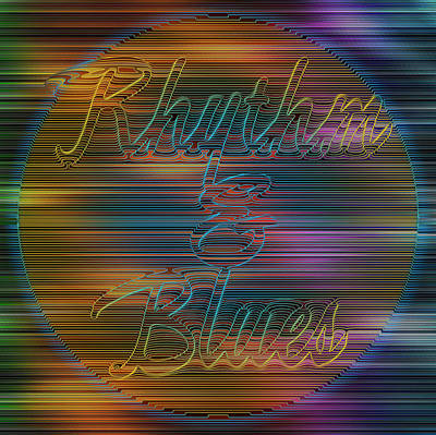 Rhythm And Blues Print by Becky Titus