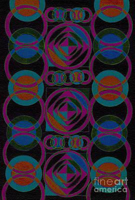 Rhythm Impression Print by Norma Appleton