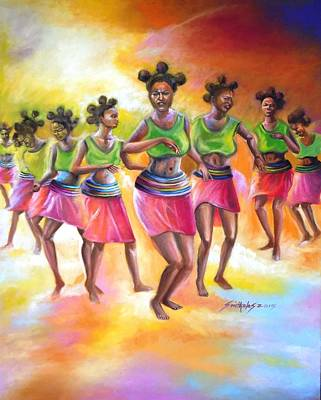 Arkansas Painting - Rhythm Of Celebration by Olaoluwa Smith