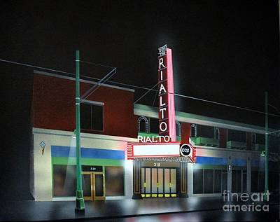 Rialto Theater Tucson Arizona Original by Jerry Bokowski