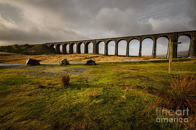 Viaduct Photograph - Ribblehead Viaduct by Stephen Smith