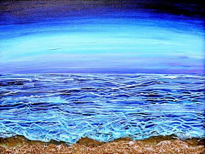 Ribbons Of Water Original by Regina Valluzzi
