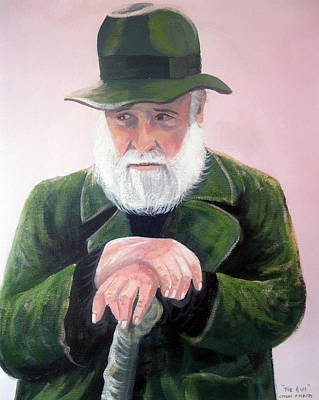 Richard Harris In The Field Print by Cathal O malley