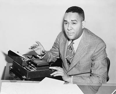 2008-2 Photograph - Richard Wright 1908-1960, Seated by Everett