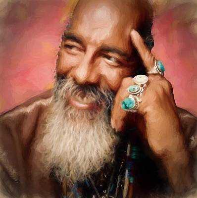 Richie Havens Tribute Print by Dan Sproul