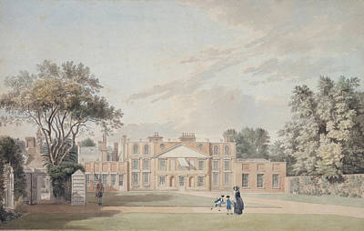 Poster Painting - Richmond Lodge by Thomas Sandby