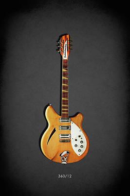 Guitar Photograph - Rickenbacker 360 12 1964 by Mark Rogan