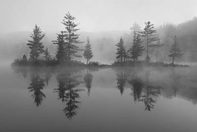 Binh Photograph - Ricker Pond Autumn Vermont by Binh Ly