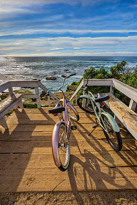 Cruiser Photograph - Ride With Me To The Beach by Peter Tellone