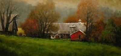 Schmid Painting - Ridgefield Farm by Jim Gola