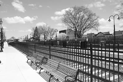Ridgewood Photograph - Ridgewood Nj Train Station by Barry Glick