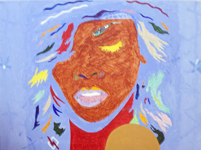 Rihanna Painting - Rihanna Loud by Stormm Bradshaw