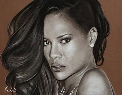 Rihanna Portrait Original by Prashant Shah