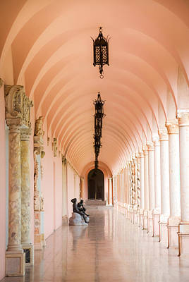 Ringling Museum Of Art Print by Karen Wiles