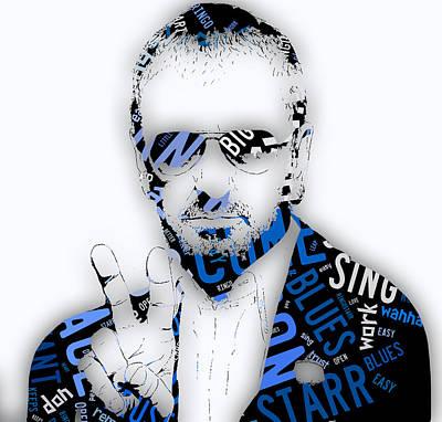 Ringo Starr It Don't Come Easy Lyrics Print by Marvin Blaine