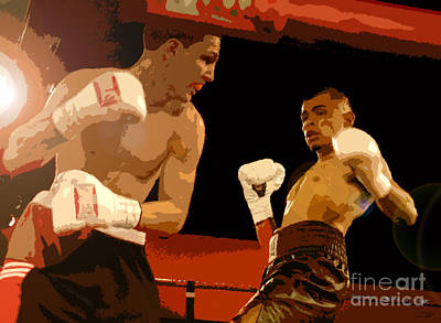 Ringside Print by David Lee Thompson
