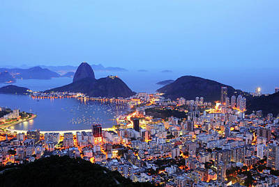 Rio Photograph - Rio De Janeiro, Beautiful City by ©Ricardo Barbieri