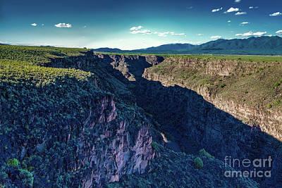 Rio Grande Gorge Print by Jon Burch Photography
