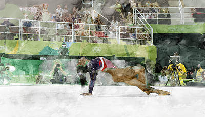 Sports Painting - Rio Olympic 8 by Jani Heinonen