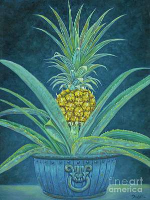 Ripe Pineapple Print by Danielle Perry