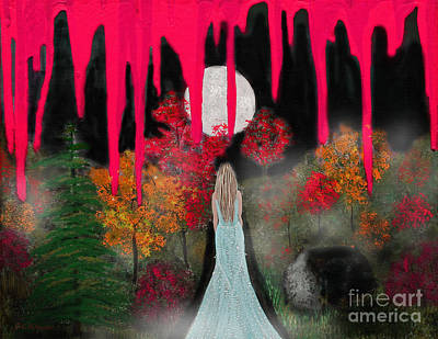 Shunned Painting - Ripped Apart by Sabrina K Wheeler