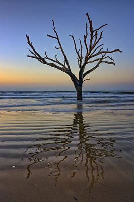 Edisto Photograph - Rippled Reflection - Botany Bay by Rick Berk