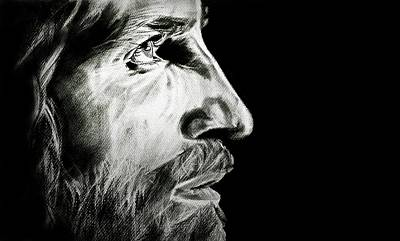 Mercy Drawing - Rise by Ann Supan