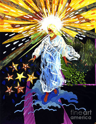 Revelation Mixed Media - Risen by Peter Olsen