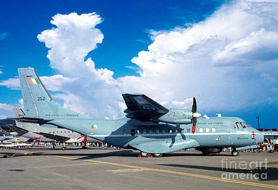 Irish Air Corps, Casa Cn-235-100m, Twin-engine Tactical Airlifter Print by Wernher Krutein