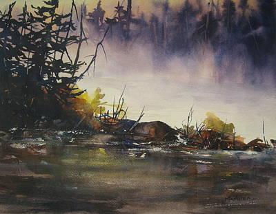 Rising Mist Print by Madelaine Alter